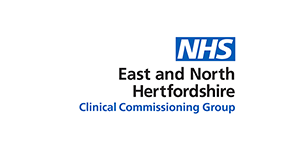 East and North Hertfordshire CCG logo