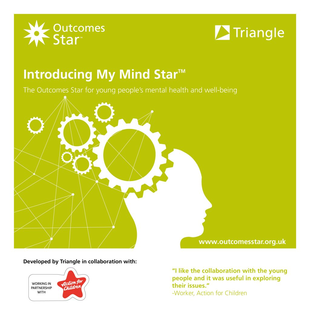 Image linking to a blog post introducing the new My Mind Star for use with organisations supporting young people's mental health and well-being
