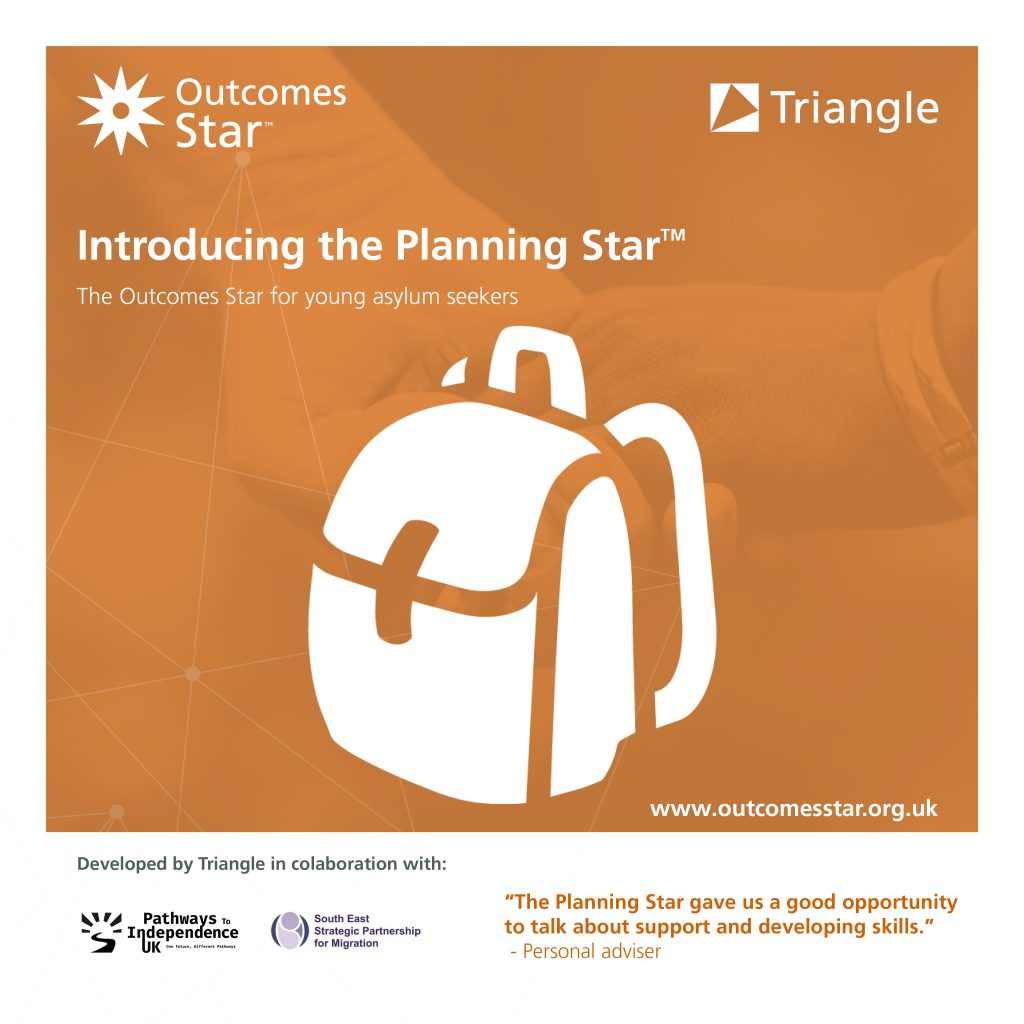 Graphic introducing the Planning Star - linking to the Planning Star webpage