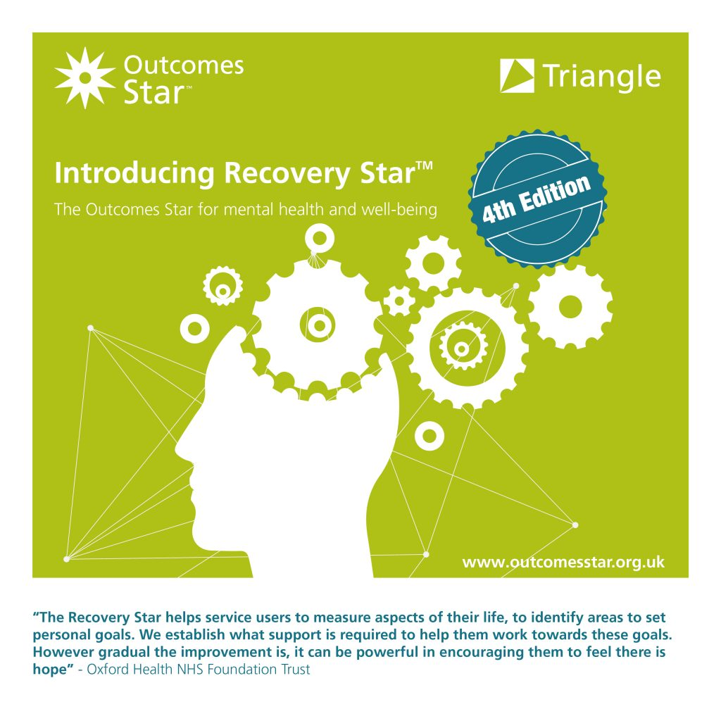 Graphic introducing the Recovery Star Fourth Edition, linking to a blog post on the new Star