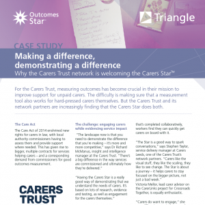 Carers Star case study