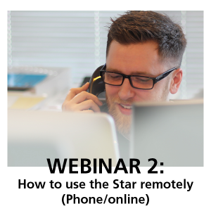 Webinar 2: How to use the Star remotely